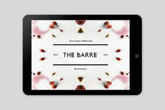 Pop & Pac – Visual identity for The Barre at The Art Centre Melbourne