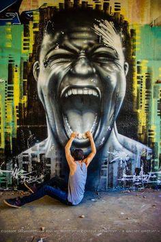 Jeaze Oner - Montpellier, France | via Global Street Art