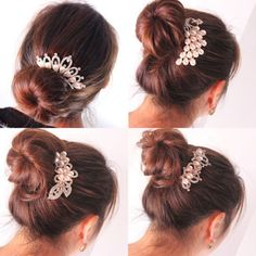 Hair Care & Styling Candid 1 Pcs Fashion Women Lady Multilayer Tassels Pearl Chain Hairpin Dish Hair Accessories Hair Clips