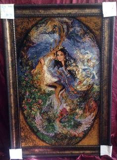 Iran art hand woven rug frames