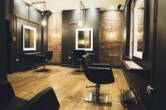 Salon interiors Nashwhite Hairdressing