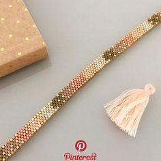 off loom beading Loom Bracelet Patterns, Bead Loom Bracelets, Bead Loom Patterns, Woven Bracelets, Beaded Jewelry Patterns, Handmade Bracelets, Beading Patterns, Beading Ideas, Beading Supplies