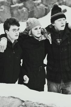 Harry , Hermione & Ron