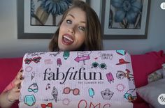 Brittany Lesser unboxes the Summer 2016 FabFitFun Box.