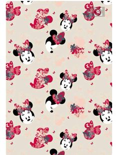 Minnie Mouse Mice Girly Things Screen Wall Funds