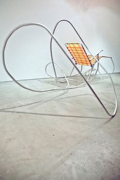 Lawn Chair Sculptures by Artist Andy Ralph