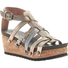 77a3fdabc80cca Otbt Women s Storm (Blue) Strappy Sandal Gold Leather (us women s 9 (wms
