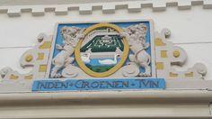 Haarlem - Hofje in den Groenen Tuin