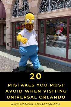 If you avoid these common Universal Orlando Mistakes, you will have a great vacation in 2019 includes advice on the Wizarding World of Harry Potter Universal Orlando Hotels, Universal Studios Parking, Attractions In Orlando, Orlando Travel, Universal Studios Florida, Orlando Resorts, Orlando Disney, Orlando Florida, Destin Florida