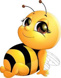 Cartoon Bee, Cartoon Clip, Cute Cartoon, Cute Wallpaper Backgrounds, Disney Wallpaper, Cute Wallpapers, Lach Smiley, Animated Smiley Faces, Bee Pictures