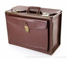 STEBCO BROWN FAUX LEATHER AVIATOR PILOT CASE CATALOG LEGAL BRIEFCASE PORTFOLIO #Stebco #PILOTCASECATALOGBRIEFCASE