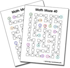 95 Best Free Worksheets, Games, Activities and Puzzles