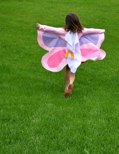 butterfly pattern for costume | ikat bag: Bug Party - Butterfly Wings