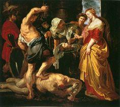 Peter Paul Rubens. Обезглавливание Иоанна Крестителя, 1609-10