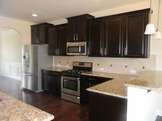 kitchens with expressi. floors and cabinets - Google Search