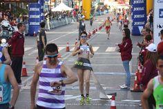 Paula González fue la gran triunfadora del Campeonato de España de 10km que se disputó este sábado en #Albacete. Más información: http://www.rfea.es/web/noticias/desarrollo.asp?codigo=8003#.VTP839Ltmko