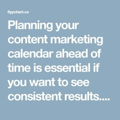 Planning your content marketing calendar ahead of time is essential if you want to see consistent results. This article provides over 150 ideas for 2018.