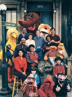 Sesame Street, mid 80s