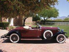 1931 Rolls Royce Phantom II Roadster Brewster