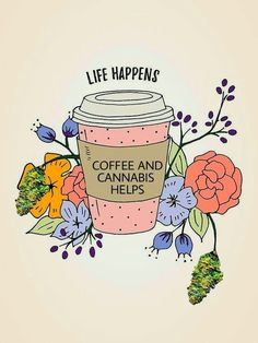 Life happens coffee helps free printable wall art posted by Stephanie.Whether you're a morning or afternoon coffee drinker (or both!), I'm sure you'll relate to this wall art, which has fast become my life motto. Coffee Is Life, I Love Coffee, Coffee Art, My Coffee, Coffee Beans, Coffee Enema, Coffe Decor, Coffee Cups, Coffee Drawing