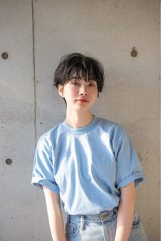 Pin on ショートヘア ( Short Hairstyles ) Pin on ショートヘア ( Short Hairstyles ) Short Hair Tomboy, Asian Short Hair, Girl Short Hair, Short Hair Fashion, Tomboy Hairstyles, Braided Hairstyles, Cool Hairstyles, Short Bangs, Short Hair Cuts