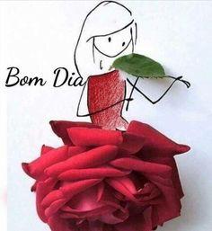 Bom dia Rosa Flor