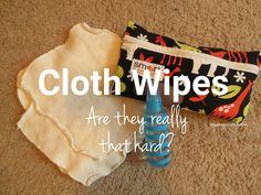 How to use cloth wipes from Smart Bottoms