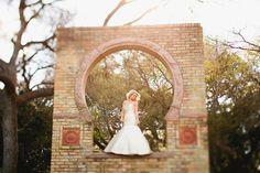Zilker Botanical Gardens bride--what a beautiful portrait!