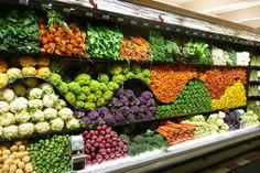 Retail VM | Produce Display | Supermarket Design |