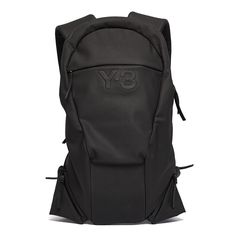 Vest large backpack from the F/W2016-17 Y-3 by Yohji Yamamoto collection in black