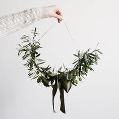 Olive branch swag