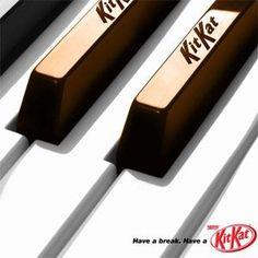"""awesome 35 anuncios de Kit Kat """"para tomarse un respiro"""""""