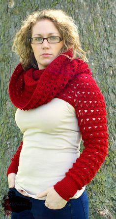 Modern Red Riding's Hood - KatiDCreations
