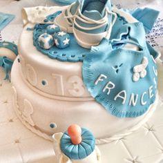 Twins babyshower cake