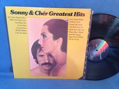 RARE Vintage Sonny and Cher  Greatest Hits Vinyl by sweetleafvinyl