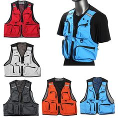 Multi Pockets Fishing Hunting Mesh Vest Mens Outdoor Leisure Jacket from for Euro Fishing Vest, Bass Fishing Tips, Best Fishing, Kayak Fishing, Fishing Games, Fishing Basics, Fishing Life, Going Fishing, Fishing Reels