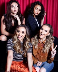 Little Mix for the Daily Telegraph in Australia.
