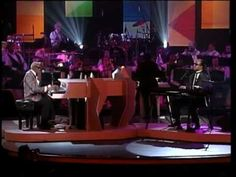 """Ray Charles & Stevie Wonder. They are performing """"Living For the City"""" and it's fab !!!"""