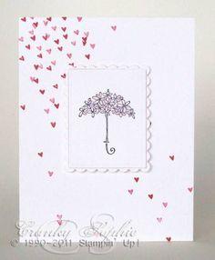 Image result for stampin up wedding shower cards