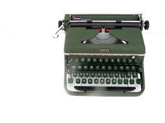Working typewriter Halda excellent working by SoYesterdaySoCool