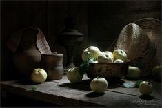 Яблоки (2) - Summer still life with apples