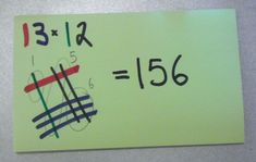 Japanese method of Elementary Multiplication... This is SO cool!