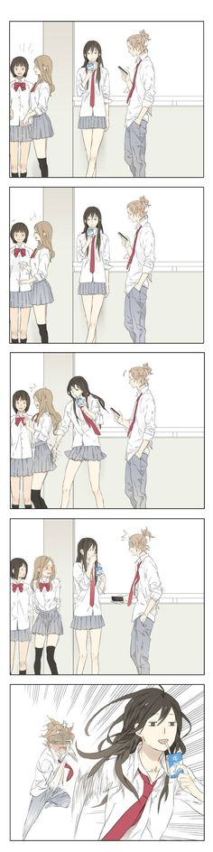 Tamen Di Gushi Ch.1 page 1 at www.Mangago.me. I have no idea what this is, but I love it