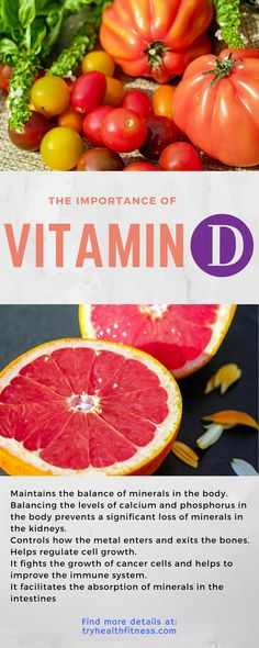 The importance of vitaminD for the human body #vitamin  #food #nutrition #health #home #lifestyle