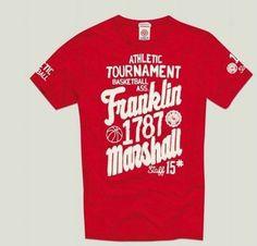 Franklin and Marshall tournament tee.