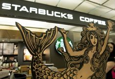 "starbucks siren looking a bit ""new & improved"""
