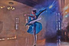 Dancing girl, myself.