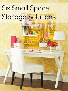 Storage Solutions for Small Spaces »