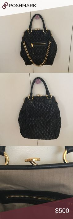 ae6b3c8365ee Marc Jacobs Large Quilted Leather Stam Bag Very good condition . Quilted  lambskin with gold tone