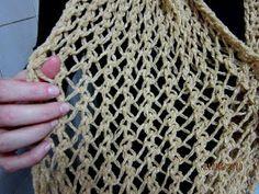 Receita de Tricô: Ponto Segredo Simples em tricô